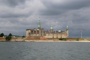 Slottet Kronborg vid Helsingör. Slottet där Shakspear´s Hamlet utspelar sig.