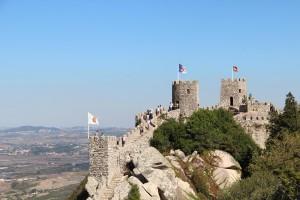 Castelo do Mouros, moorisk borg i Sintra.