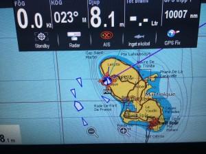 Vi har seglat 10000 sjömil sedan vi lämnade Sverige!