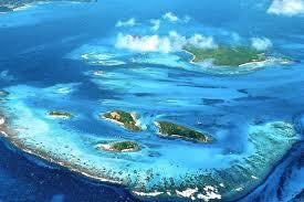 Tobago Cays, bild från internet. Egna bilder gör inte rättvisa till hur vackert det är.