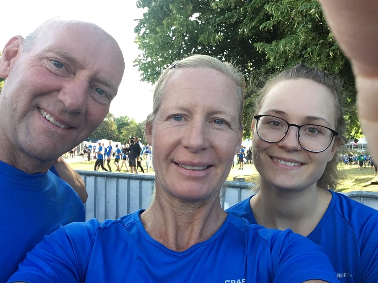 Mads, Lotta och Susanna är redo för Sthlm Urban Trail!