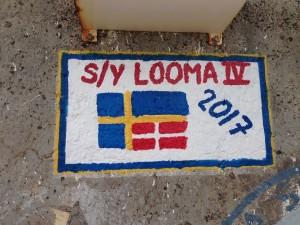 S/Y Looma IV tag i Porto Santo.