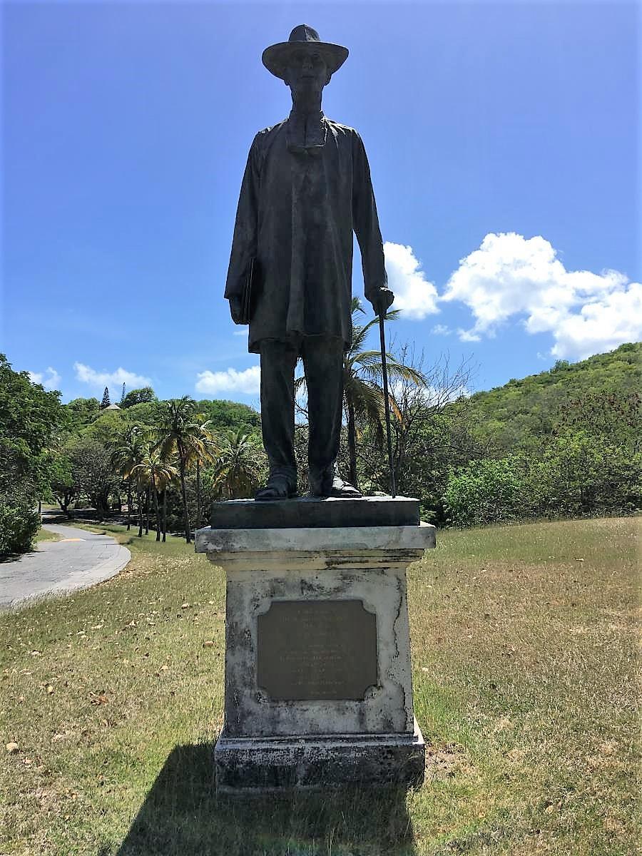 Sir Colin Tennant, grundare av Mustique.