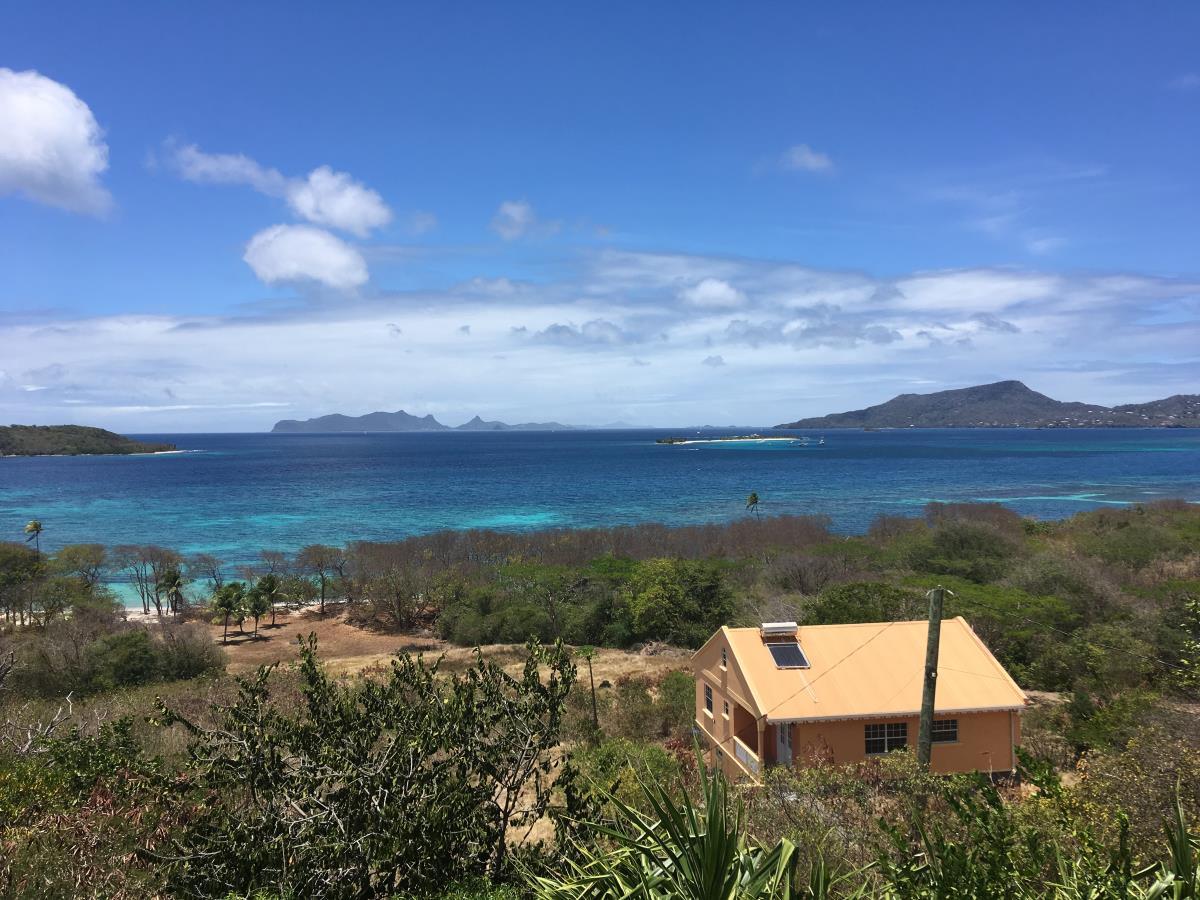 Utsikten från Bob och Wendys terrass.