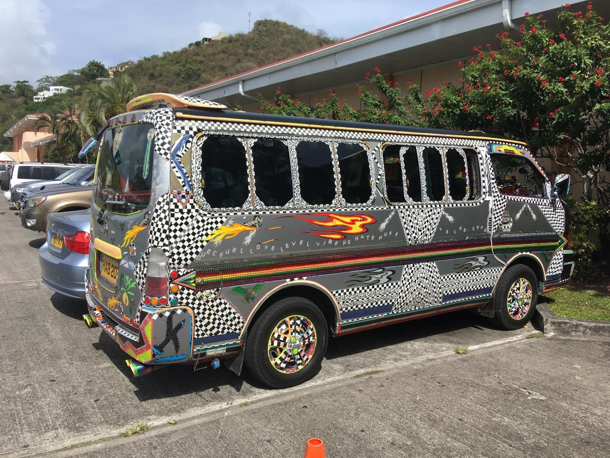 Pimpad och finaste taxin i stan! Grenada