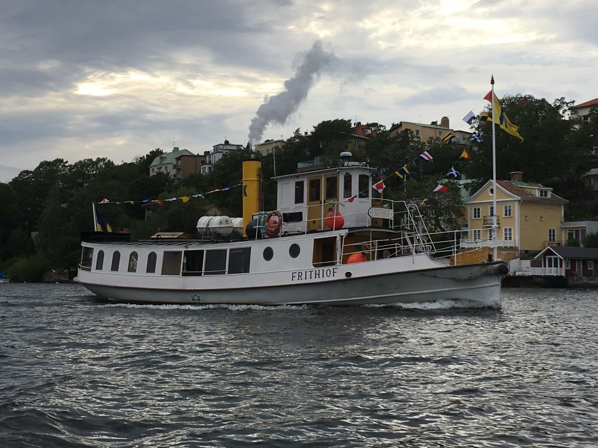 Fina ångbåtar på Stockholms vatten får man aldrig nog av.